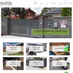 Strona internetowa ALUDOM