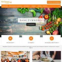 Bank Żywności w Krakowie - strona www