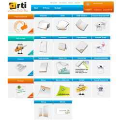 Sklep internetowy dla drukarni ARTI Rzeszów