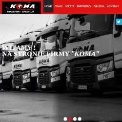 Strony WWW dla firm transportowych