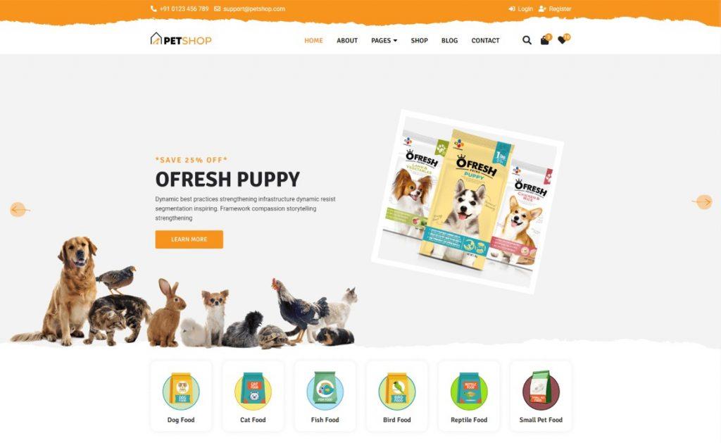 Zoologiczny sklep internetowy
